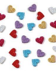 Enfeite Adesivo para Cachorro 'Coração' - Pacote com 20 unidades