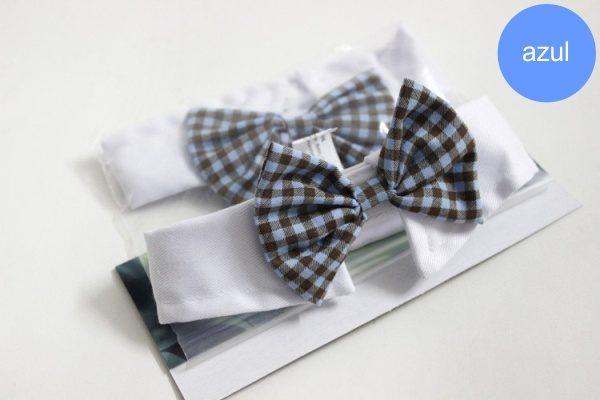 Gola com Gravatinha Azul para Cachorro 'Funny Tie' - Unitário