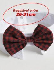 Gola com Gravatinha para Cachorro 'Funny Tie' - Unitário